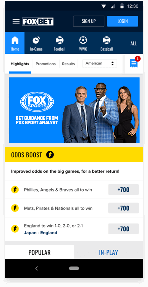 FOX Bet site